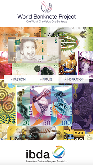 IBDA World Banknote Project Collage